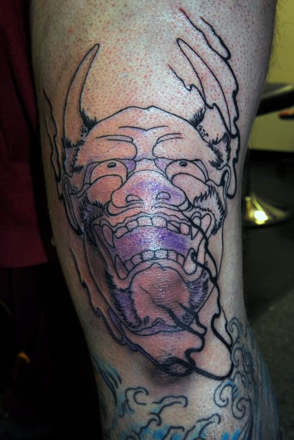 Knee Tattoo Images &am...