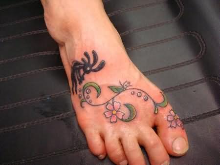 toe tattoo images designs. Black Bedroom Furniture Sets. Home Design Ideas