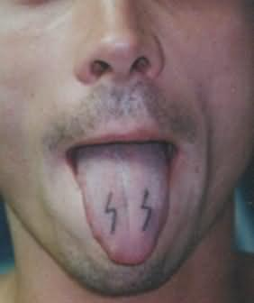 Extreme Tattoo On Tongue