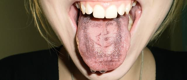 Tongue Tattoo Images & Designs