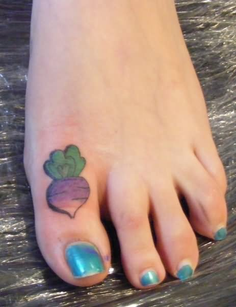 Toe tattoo images designs for Tattoos on toes