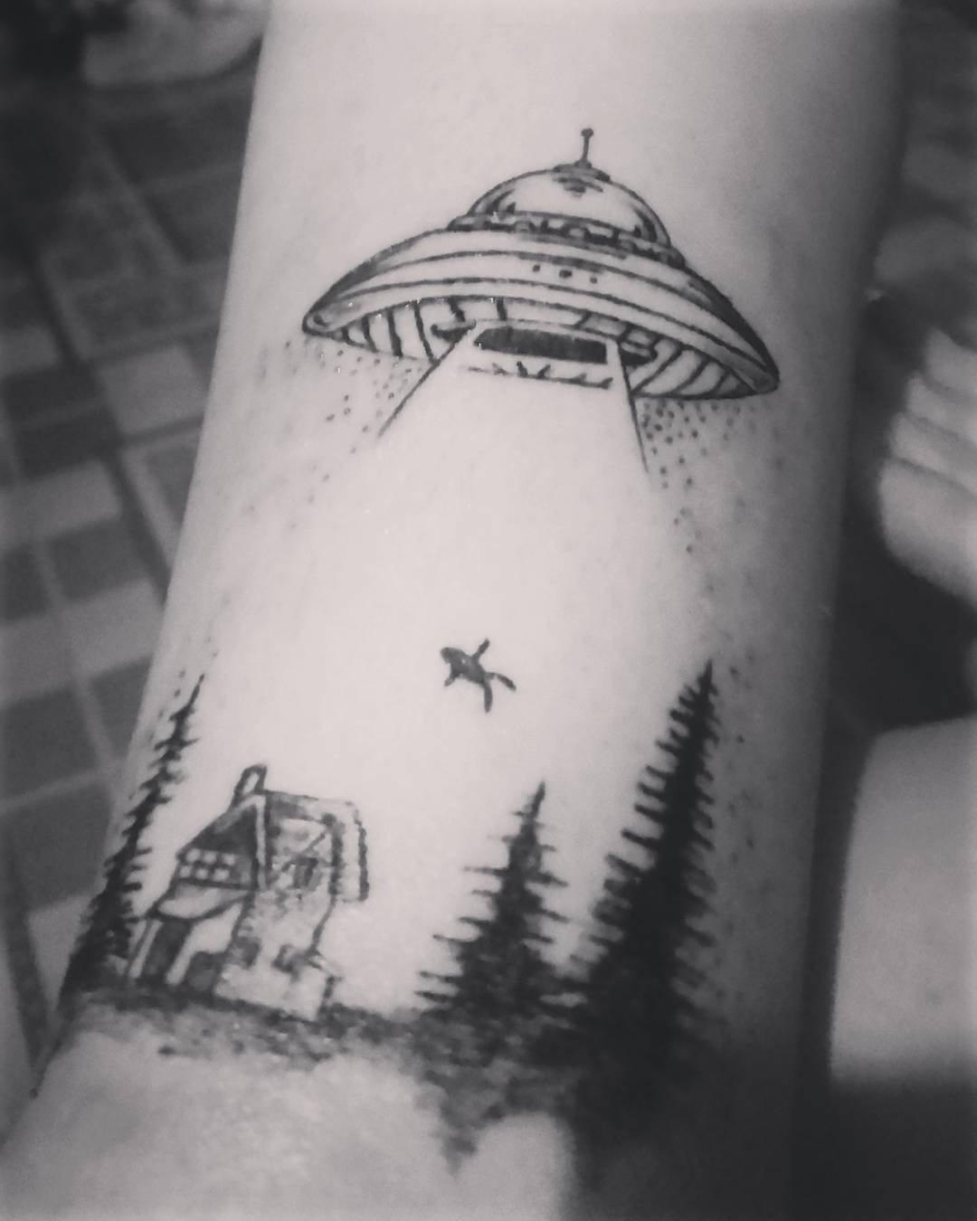 Alien Tattoos Designs Ideas And Meaning: Alien Tattoo Images & Designs