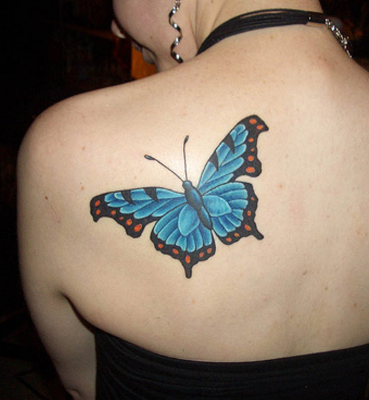 Butterfly Tattoo Images & Designs