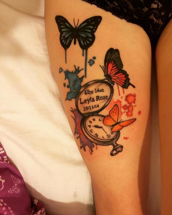 My Tattoo Designs Butterfly Foot Tattoos: Butterfly Tattoo Images & Designs
