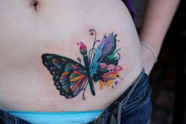 Butterfly Tatto...