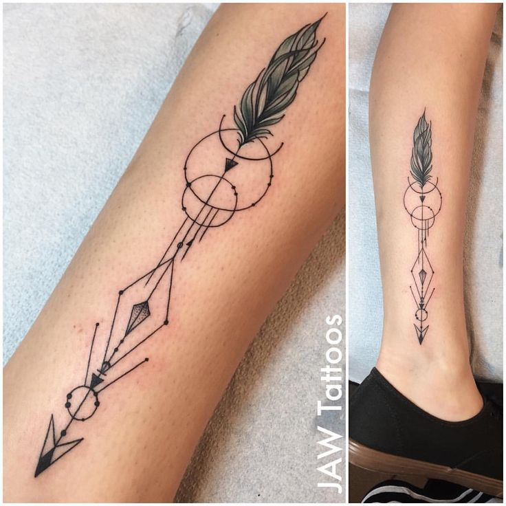 Arrow Tattoo Images & Designs