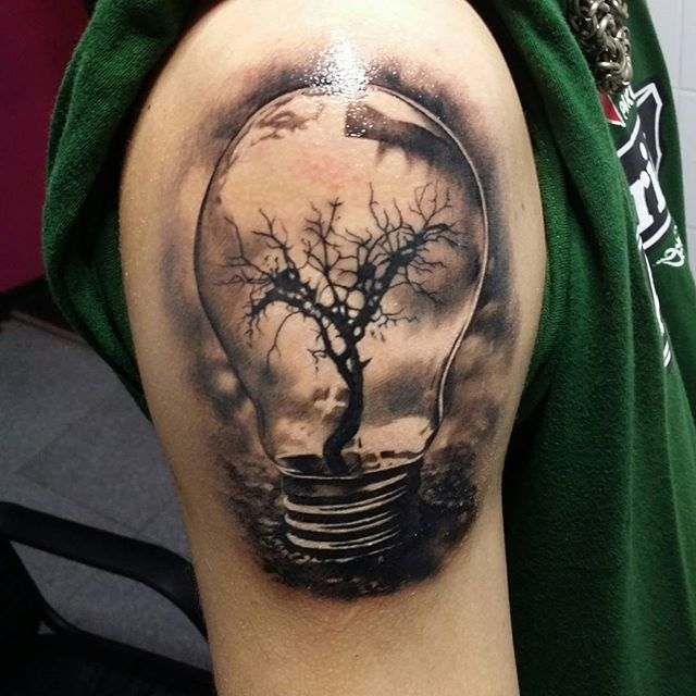 Bulb Tattoo Images & Designs