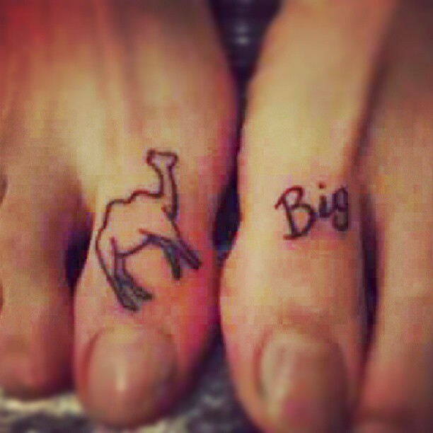 toe tattoos tattoostime search