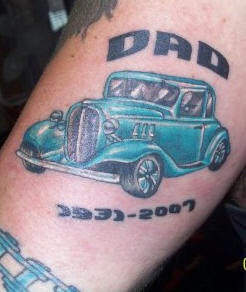 Car Tattoo Images Designs