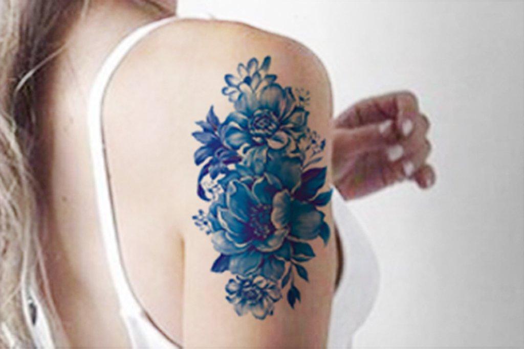 Floral Tattoo Images & Designs Vintage Flower Tattoo Sleeve