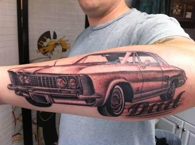 Car Tattoo Images & Designs