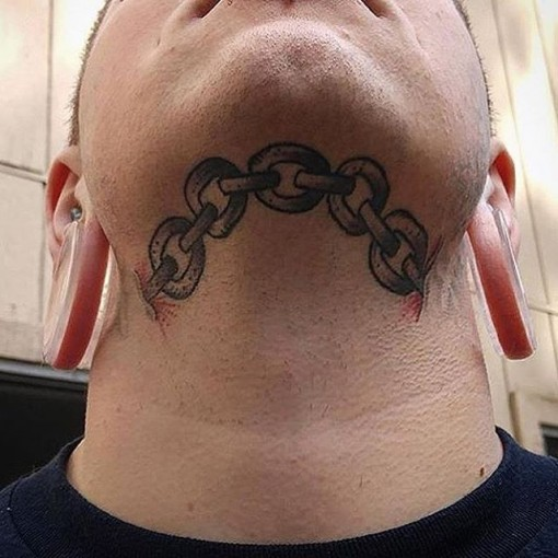 Chain Tattoo Images & Designs