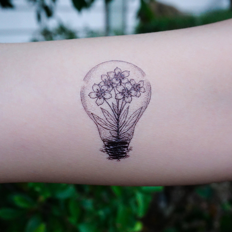 Bulb Tattoo Images Amp Designs