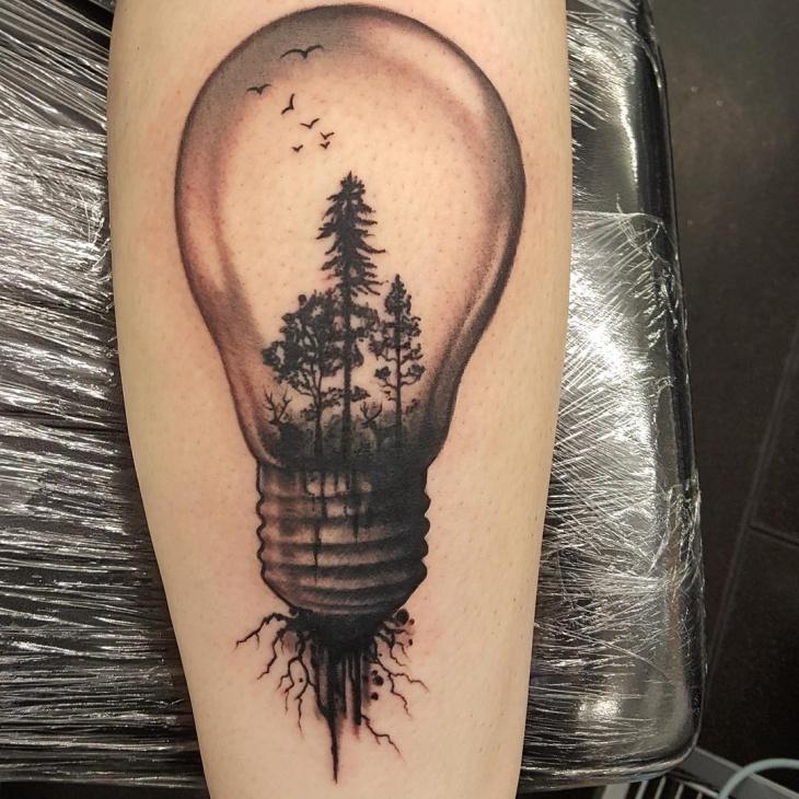 Bulb Tattoo Images & Designs