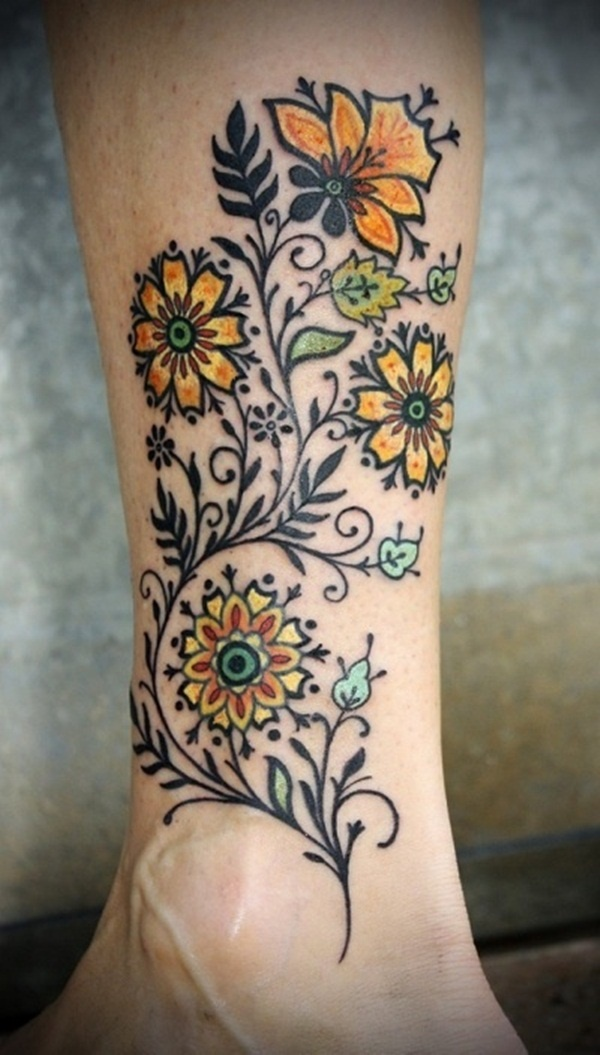0a1a3c2b1 ... Flower Blooming Stages Tattoo: Floral Tattoo Images & Designs