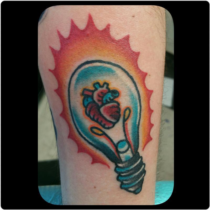 bulb tattoo images designs. Black Bedroom Furniture Sets. Home Design Ideas