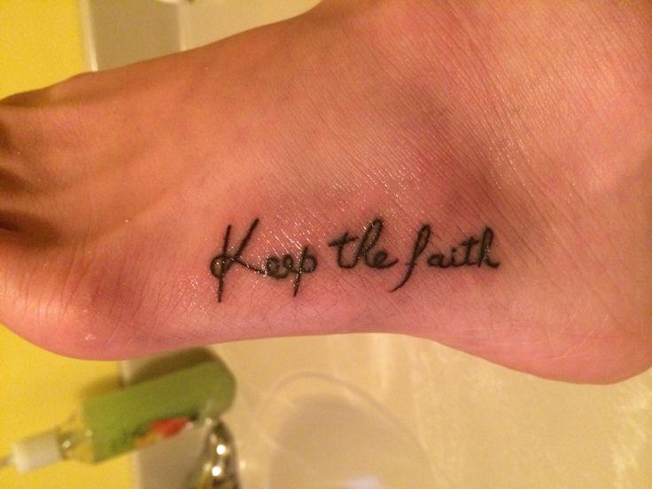 faith tattoo images designs