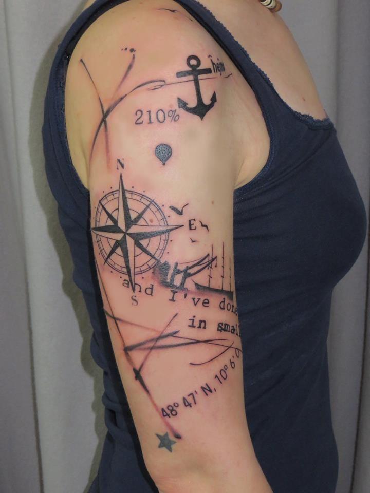 Nautical Tattoo Images Amp Designs