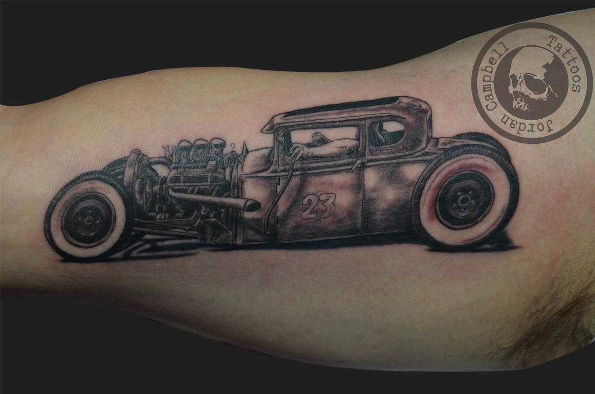 Car Tattoos Designs Www Topsimages Com