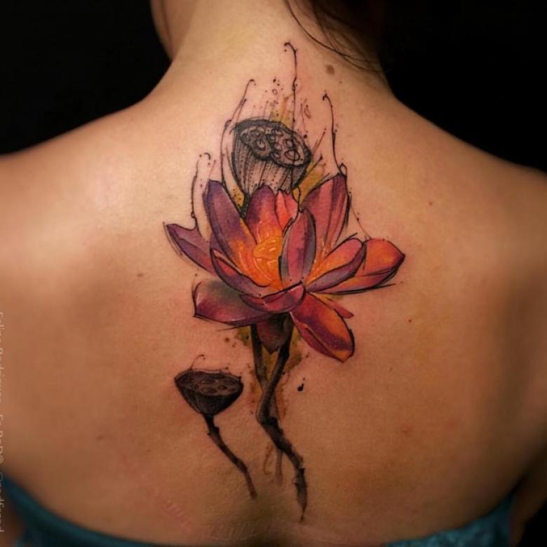 lotus tattoo images designs. Black Bedroom Furniture Sets. Home Design Ideas