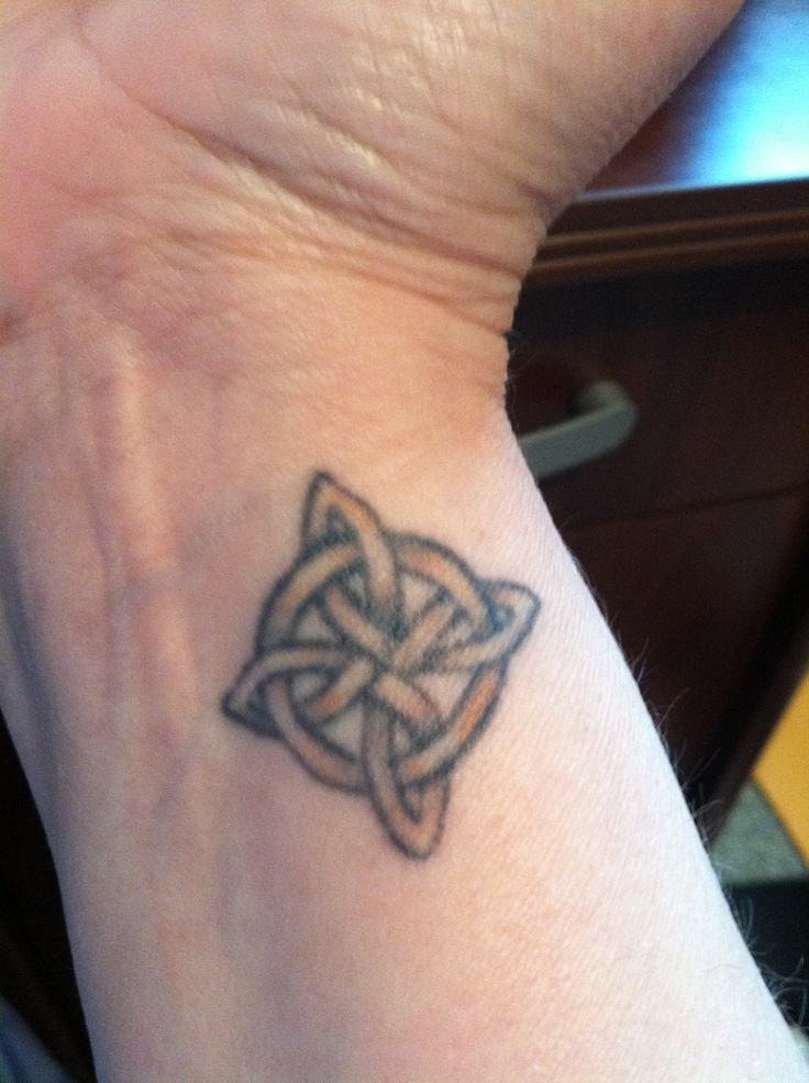 Small Celtic Knot Tattoo