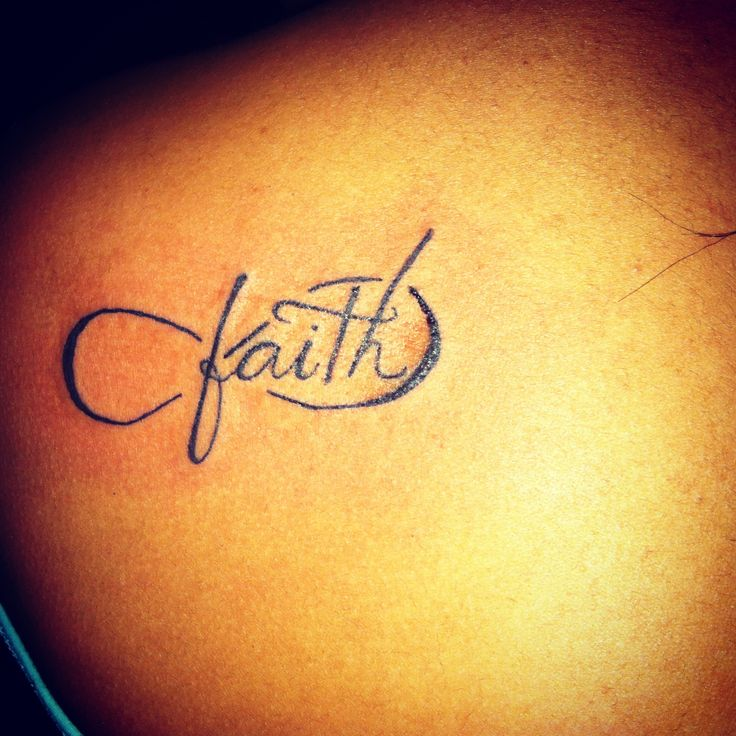 Faith Tattoo Images Designs: Infinity Tattoo Images & Designs