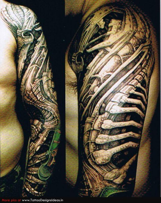 biomechanical tattoo 9