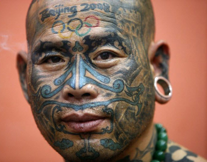 face tattoo 6