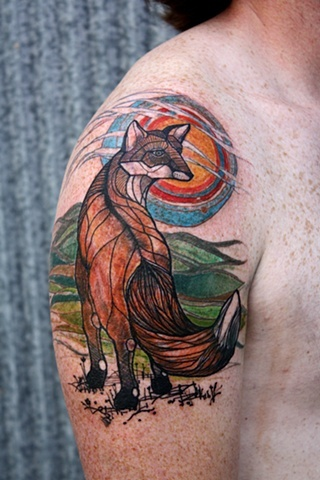 9 Cute And Simple Fox Tattoo Designs For Men And Women