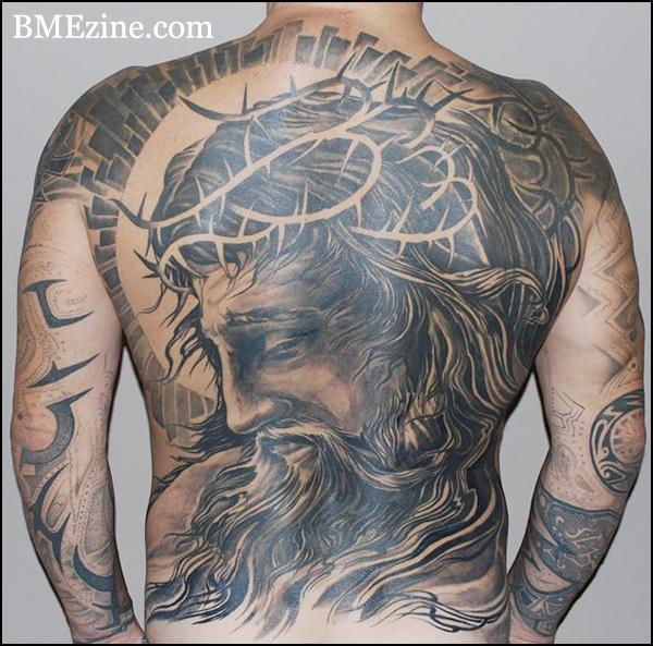 Back Tattoos For Men Jesus Best Tattoo Ideas
