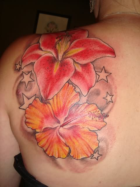 Hibiscus Tattoo Images & Designs