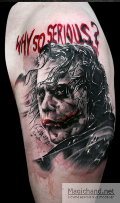 Joker Tattoo Images Designs